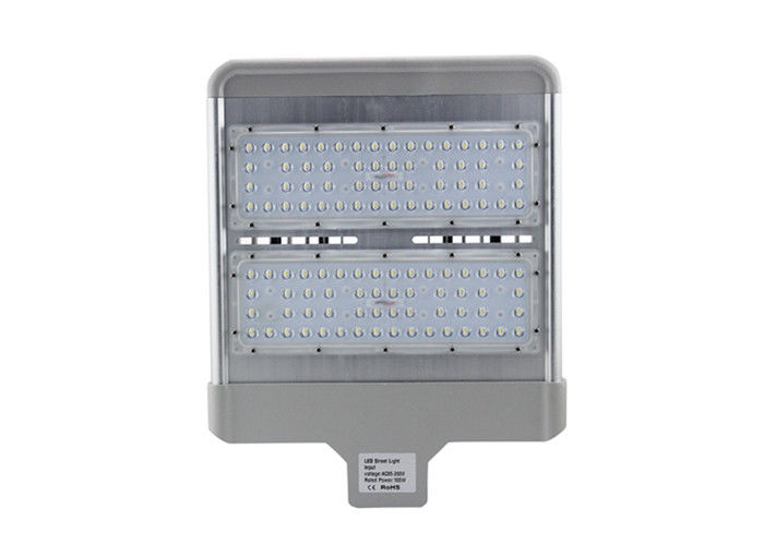 Outside White Led Street Lights Fixtures 100W High Lumen Easy Installations