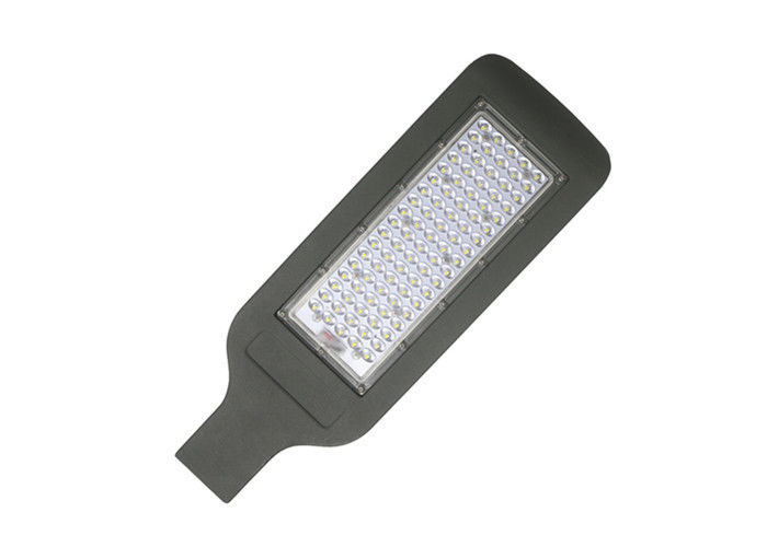 White LED Exterior Pole Lights Energy Saving Street Lights 120W RoHS Approved