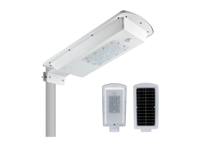 Energy Saving 15W All In One Integrated Solar Street Light 5500lm Ip65