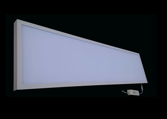Overhead Bright 48W Led Recessed Ceiling Panel Lights 300x1200 3600 Lm
